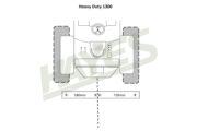 Flail Mower HD1300 Cut
