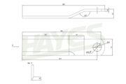 Heavy Duty Slasher Blades Diagram