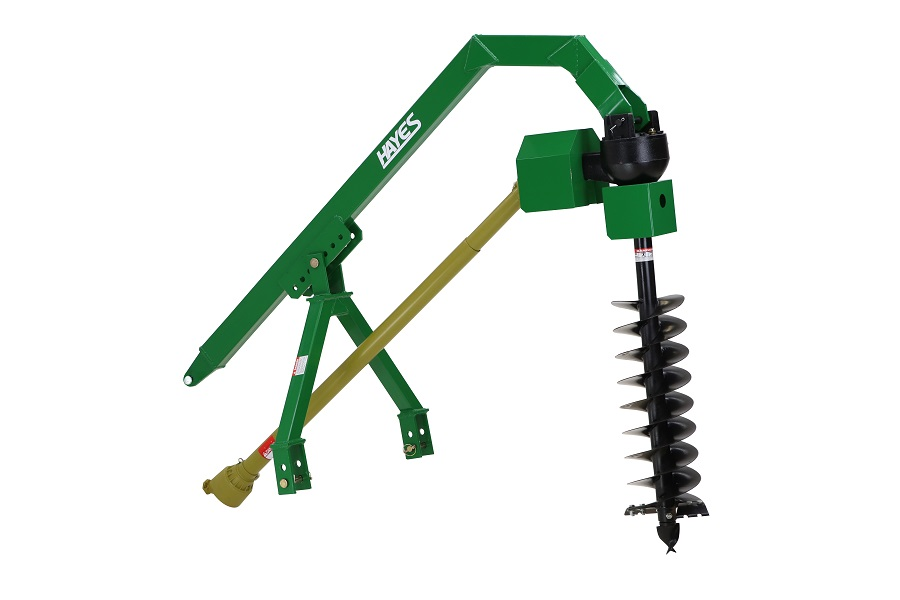 Heavy duty with 12″ auger