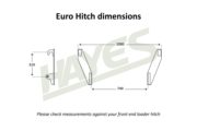Silage Soft Hands Euro Hitch