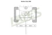 Flail Mower MD1000 Cut