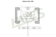 Flail Mower MD1300 Cut