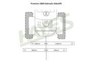 Flail Mower Premium 1800 Hyd Cut