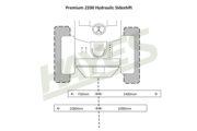 Flail Mower Premium 2200 Hyd Cut