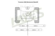 Flail Mower Premium 2200 Mech Cut