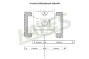 Flail Mower Premium 2400 Hyd Cut