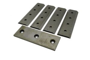 Woodchipper Blades 4 inch Hydraulic Fed